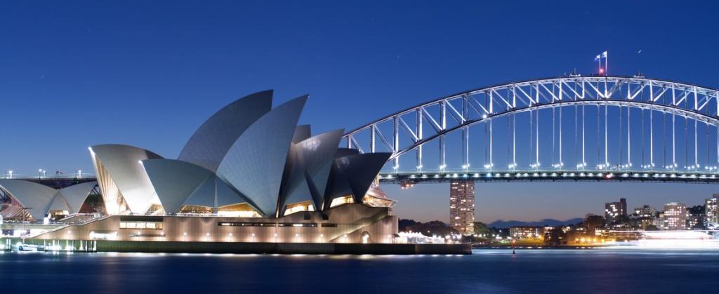 Croisière en Australie, Sydney