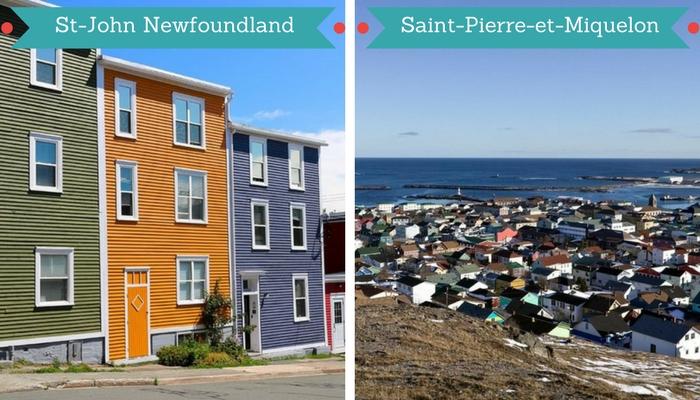 Croisière au Canada, St-John Newfoundland