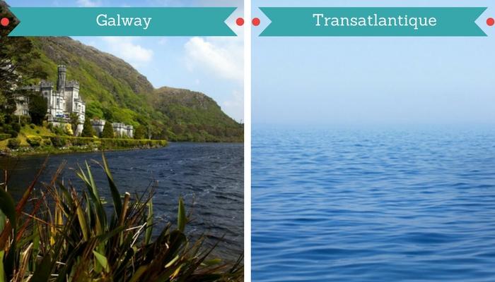 Croisière vers Galway en Irlande
