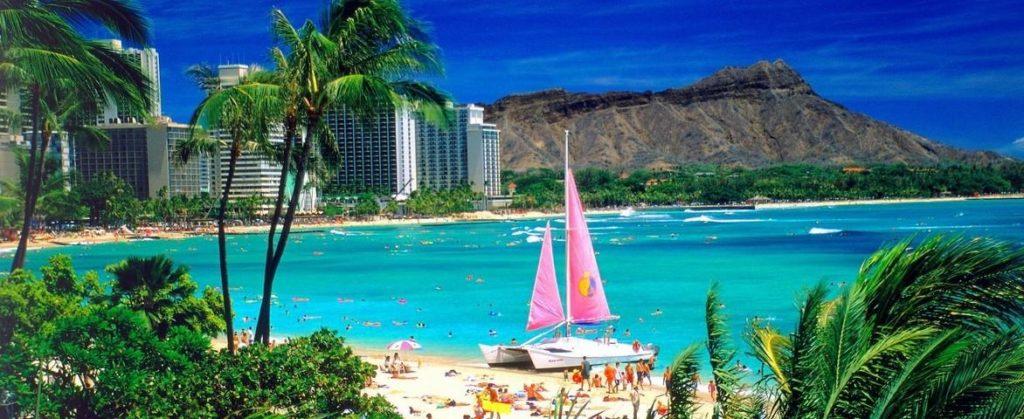 Croisière de luxe vers Hawaï