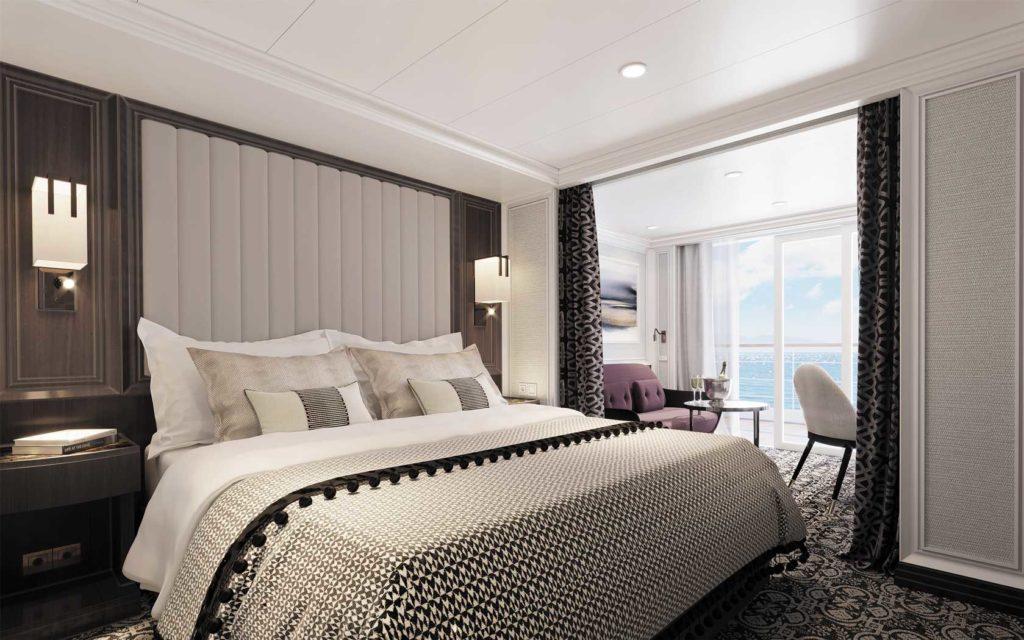 Regent Cruises, Seven Seas Splendor Deluxe Suite