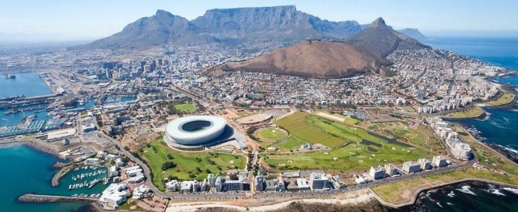 Croisière en Afrique du Sud, Le Cap