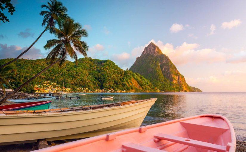 Croisière de luxe dans les Caraïbes, Sainte-Lucie