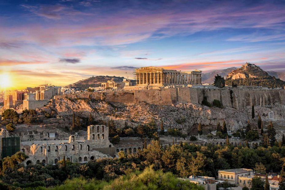 Croisière de luxe vers Athènes