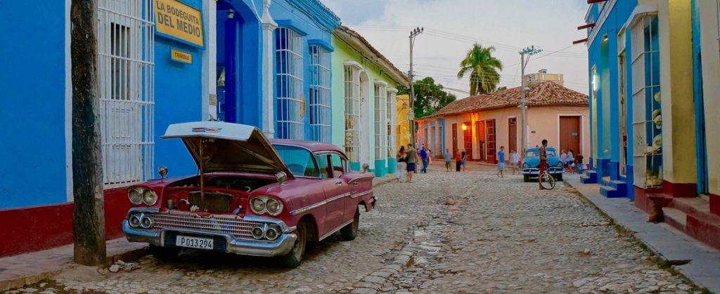 Croisière de luxe Trinidad Cuba