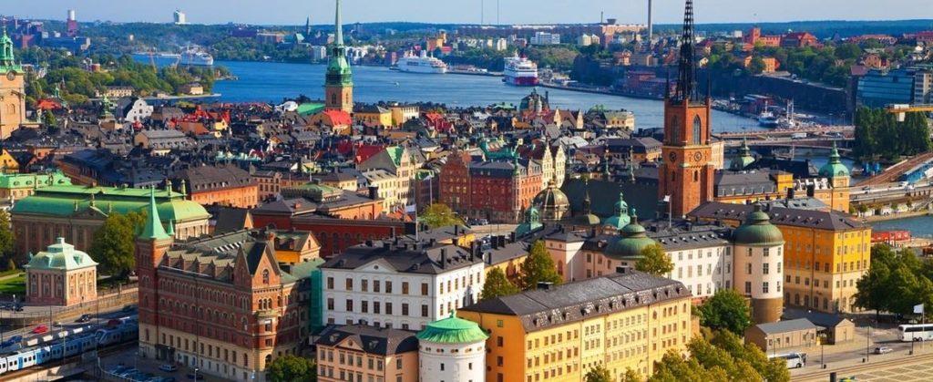 Croisière de luxe vers Stockholm
