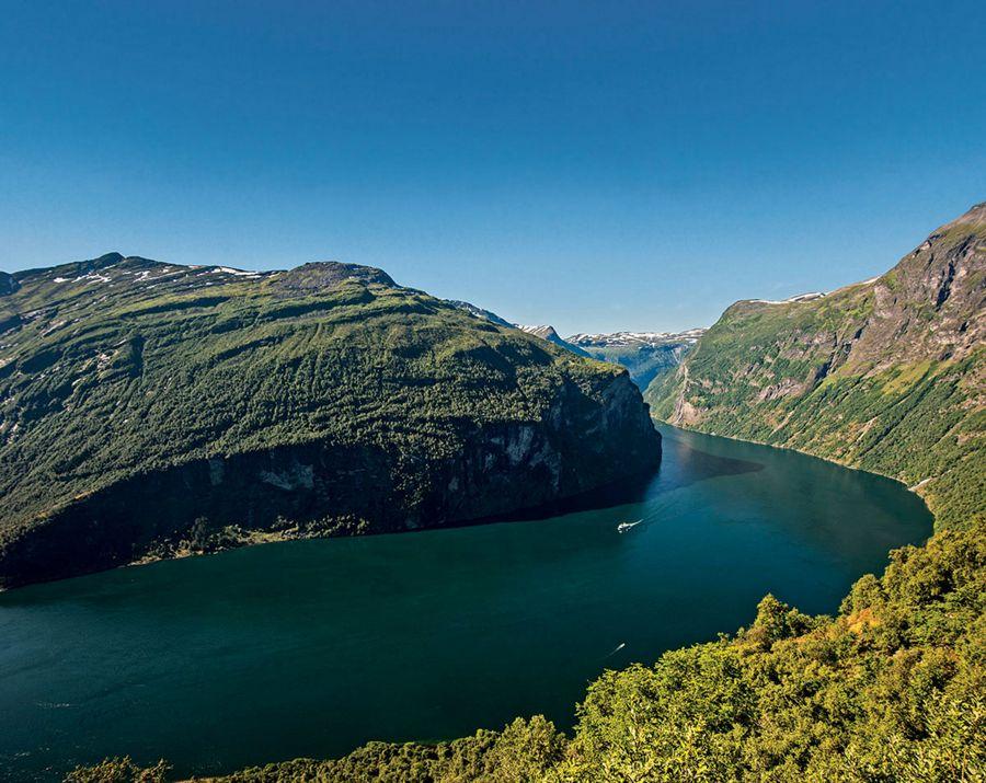 Croisière de luxe Geiranger - Norvège