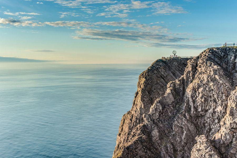 Navigation le long du Cap Nord