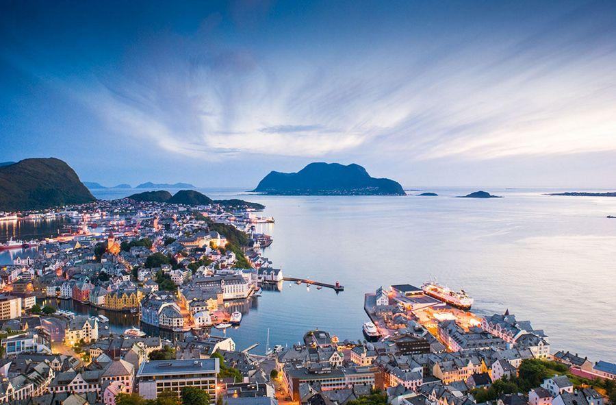 Croisière Ålesund - Norvège