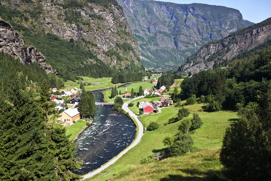 Croisière Flam - Norvège