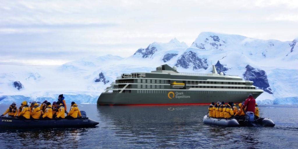 Croisière en Arctique et Antarctique avec Quark Expeditions