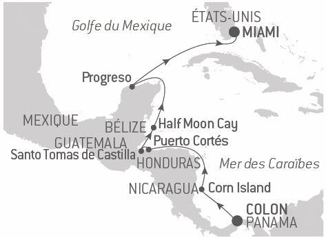 Croisière Trésors en mer des Caraïbes