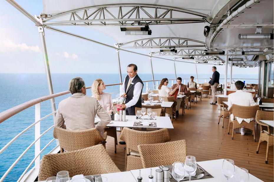 Croisière de luxe - en mer