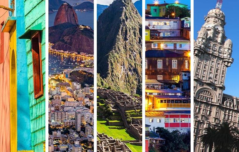 Les 5 escales en Amérique du Sud de Croisières à ne Pas Manquer