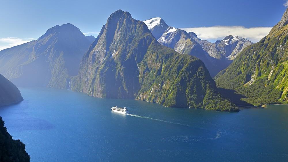 Croisière sur le Milford Sound, Nouvelle-Zélande
