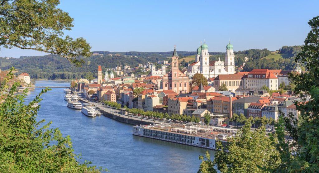 Croisière fluviale Danube, Passau