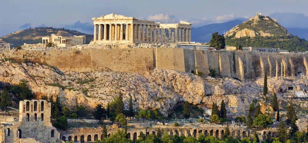 Croisière vers Athènes, Grèce
