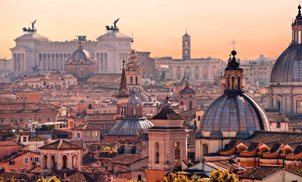 Croisière vers Rome en Italie