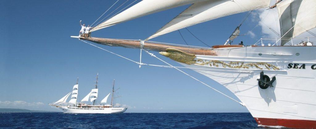 Croisières en voiliers de luxe Sea Cloud Cruises