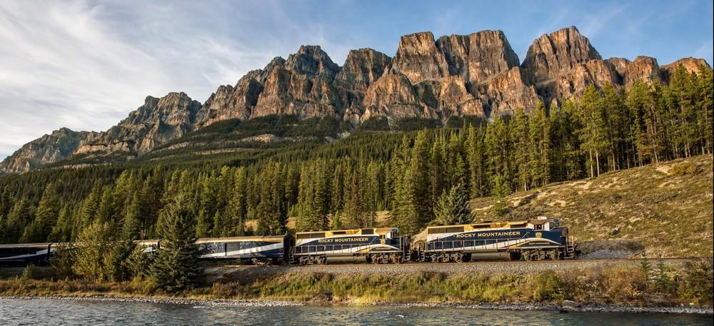 Rocky Mountaineer - option croisière au Canada