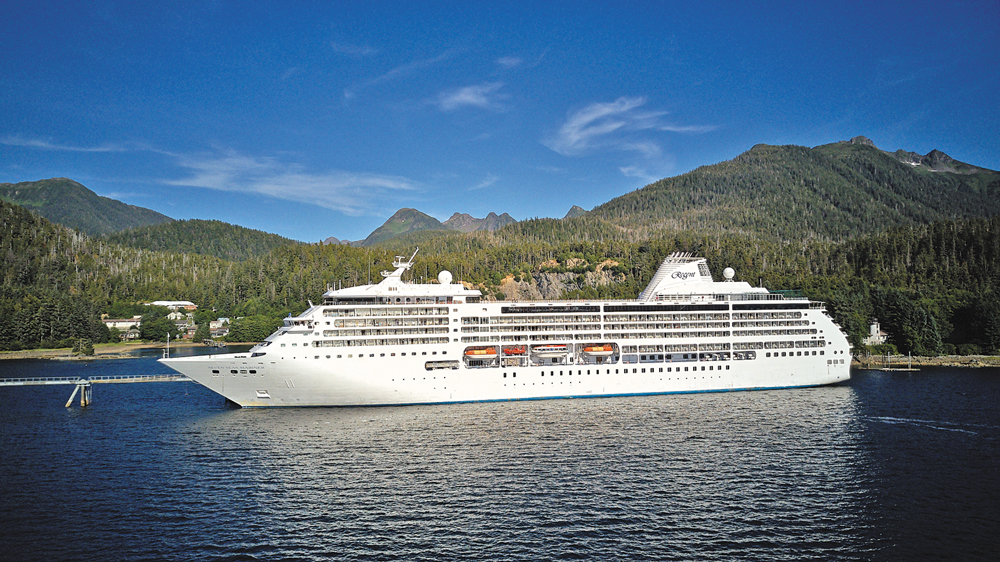 Croisière de luxe Regent Cruises en Alaska