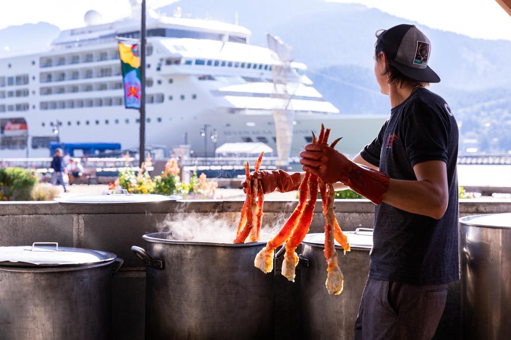 Croisière haut de gamme Regent Cruises en Alaska