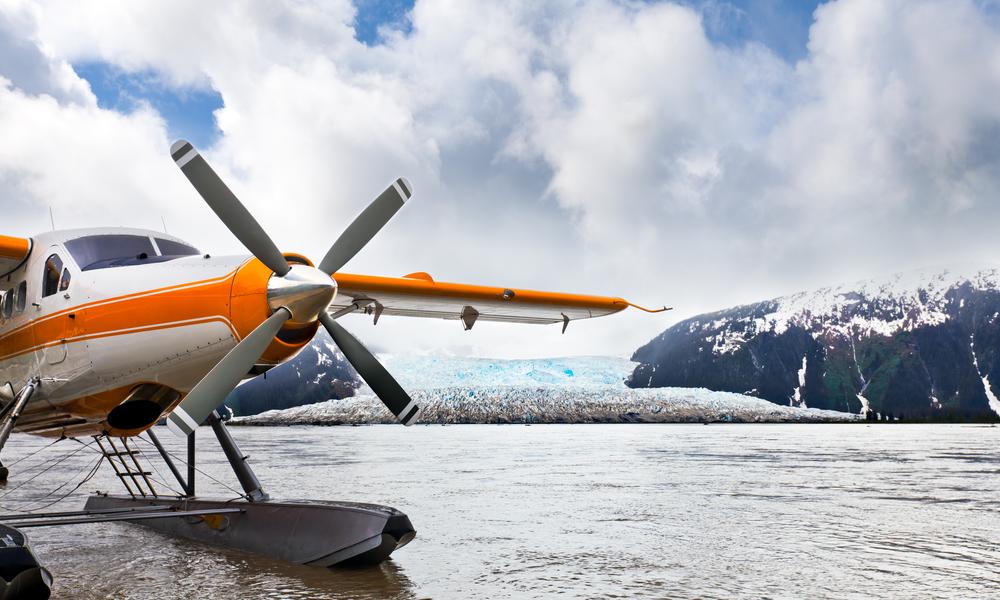 Croisière en Alaska - excursion en hydravion