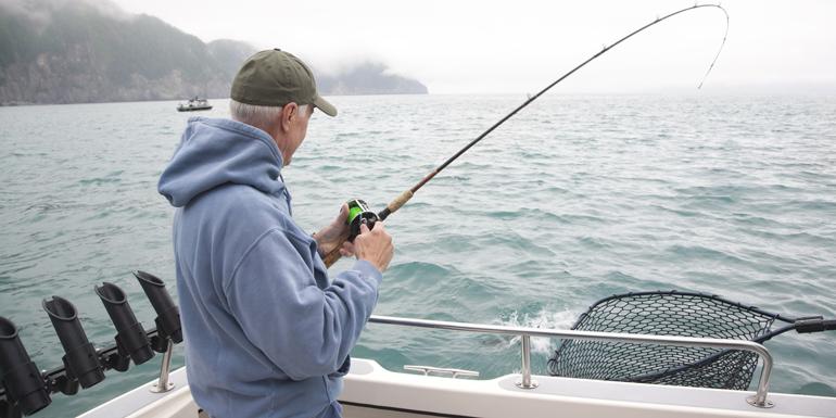 Pêche au saumon en Alaska