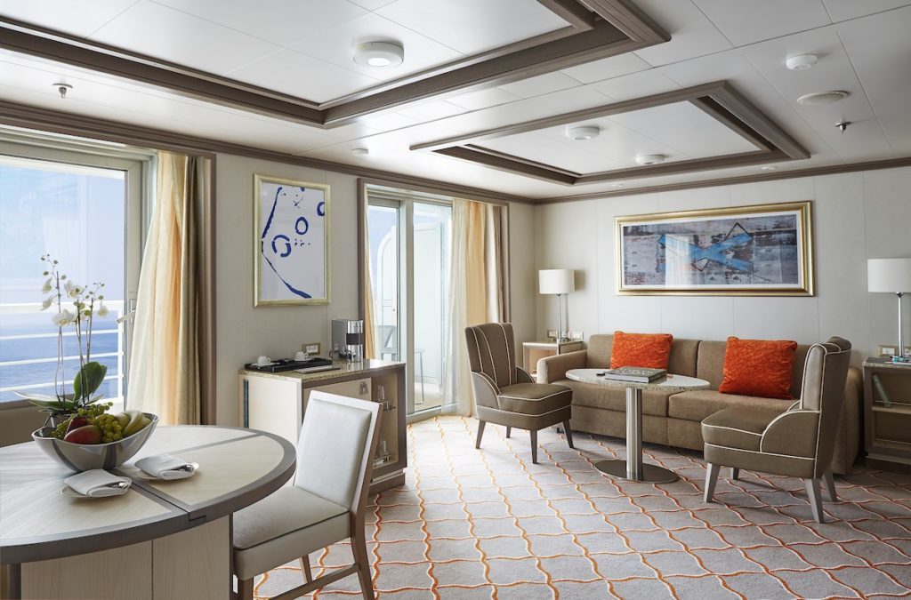 Croisière de luxe - Silver Suite, Silver Muse, Silversea Cruises