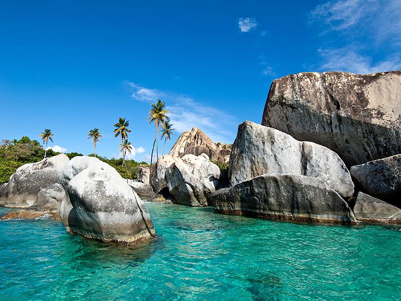 Croisière de luxe : les plages des Îles Vierges Britanniques