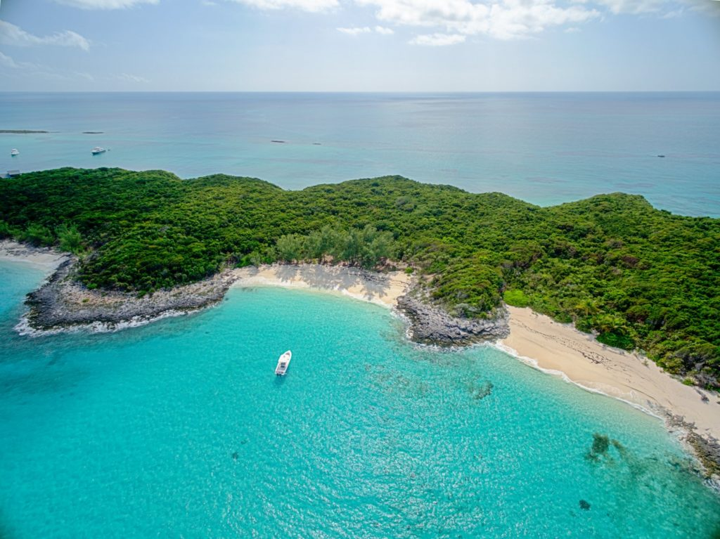 Voyage en mer de luxe : les plages des Bahamas