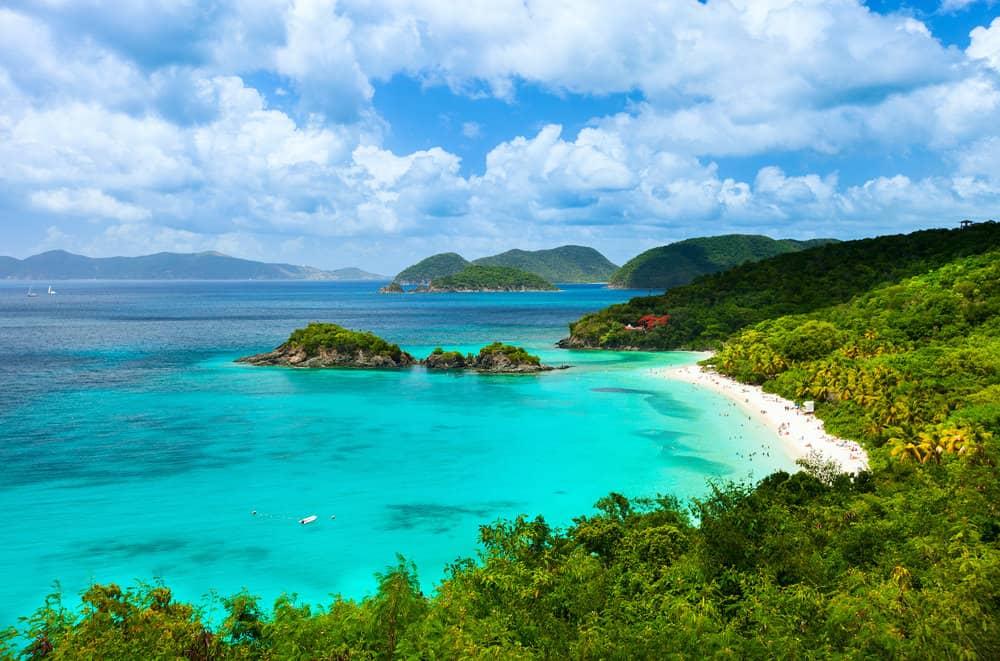 Croisière de prestige : les plages des Îles Vierges américaines