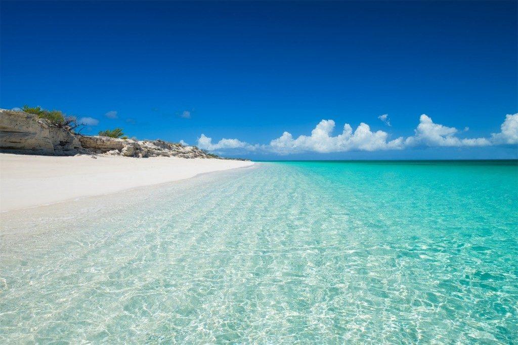 Croisière de luxe : les plages des îles Turques-et-Caïques