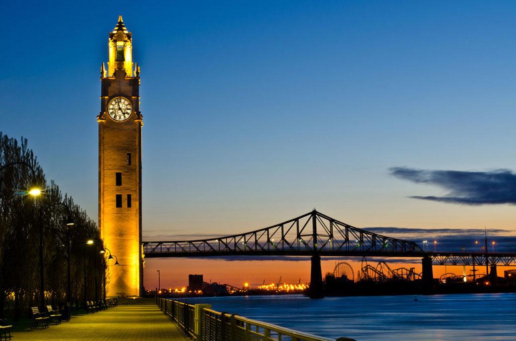 Croisière de luxe à Montréal, Canada
