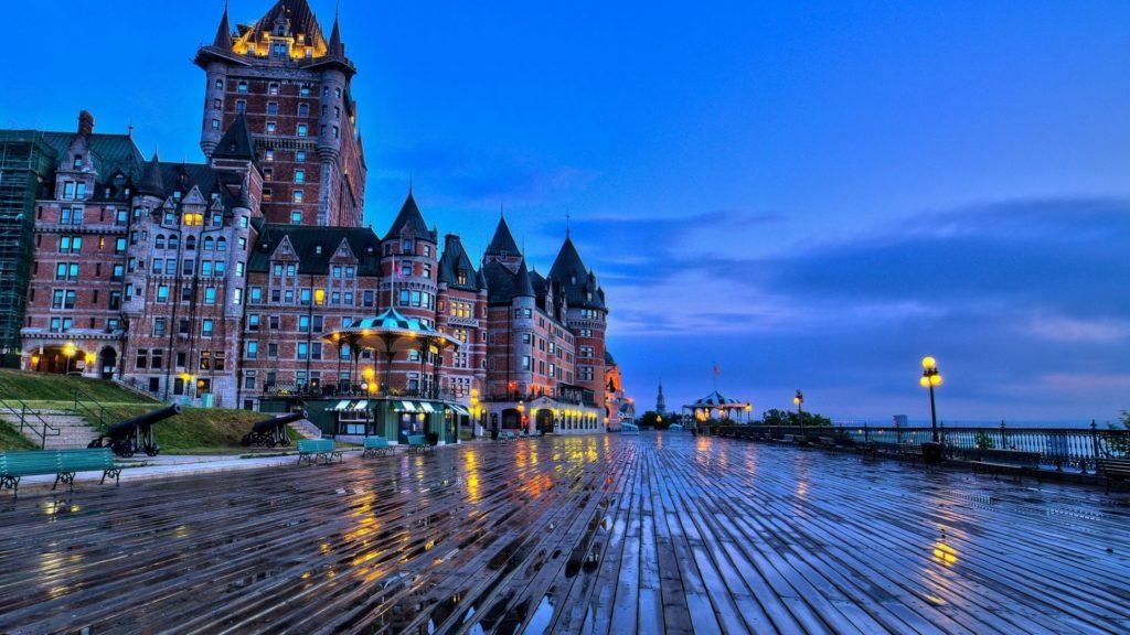 Croisières de luxe : escale à Québec