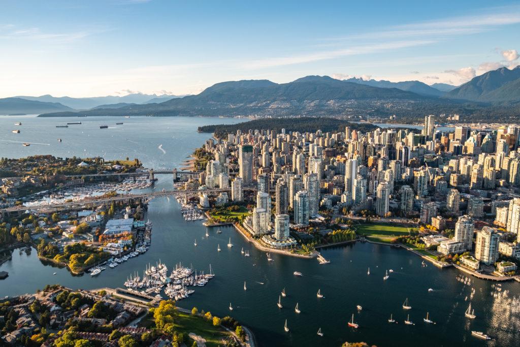 Croisières de prestige vers Vancouver - porte vers l'Alaska