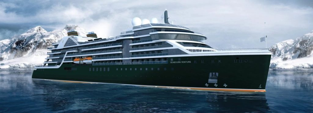 Navire expéditions Seabourn Venture