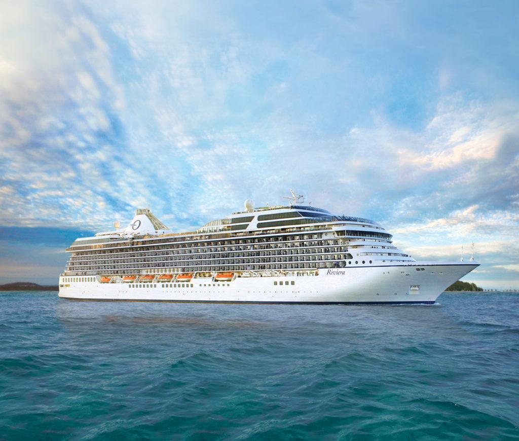 Croisière Oceania Cruises à bord du Riviera