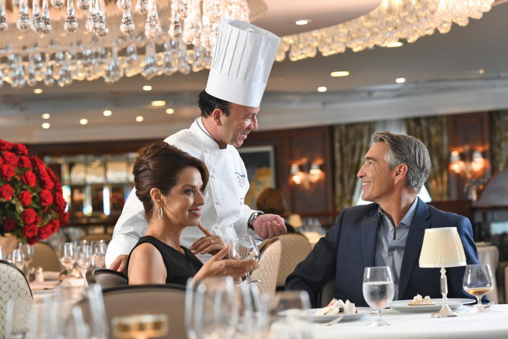 Gastronomie à bord des croisières Oceania Cruises