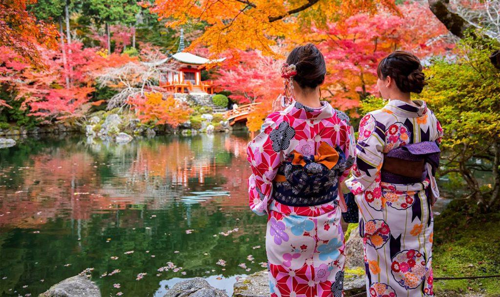 Croisières de luxe au Japon en Automne