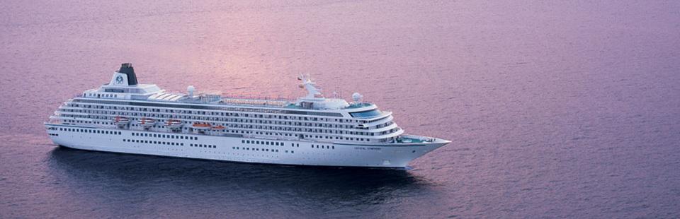 Croisière de luxe tout inclus avec Crystal Cruises