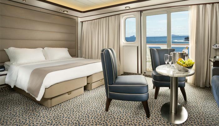 Suite Silversea en croisières de luxe
