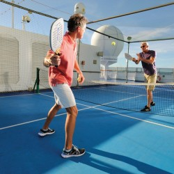 Paddle Tennis - Riviera, Oceania Cruises